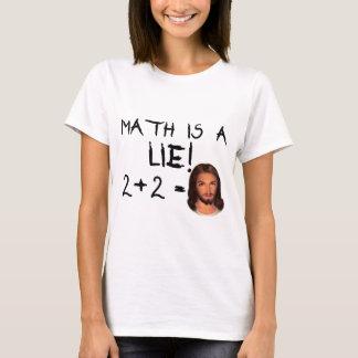 Math Is a Lie! - Light Women's Tee