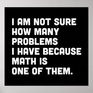 Math is a Problem Poster