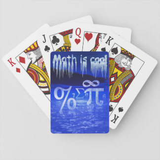 Math is Cool Playing Cards