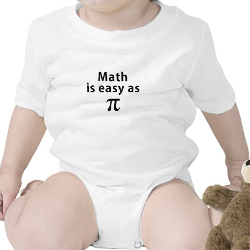 Math is Easy as Pi Baby Creeper