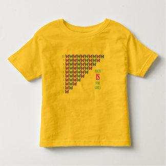 Math Is For Girls, I Love Math, Inspirational Toddler T-Shirt