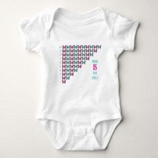 Math Is For Girls, I Love Math, Inspirational Tshirts