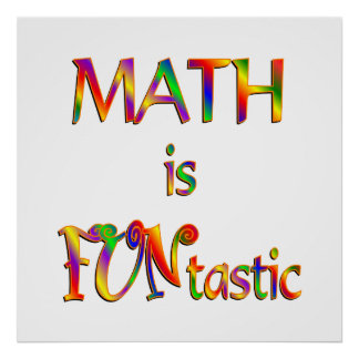 Math is FUNtastic Poster