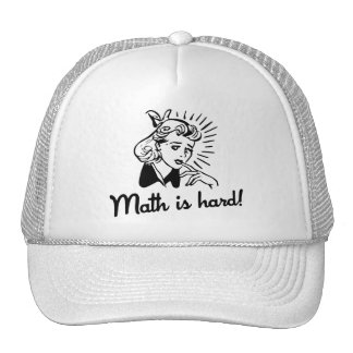 Math is Hard Hat