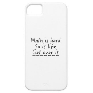 Math Is Hard iPhone 5 Case