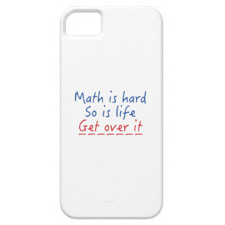 Math Is Hard iPhone 5 Cover