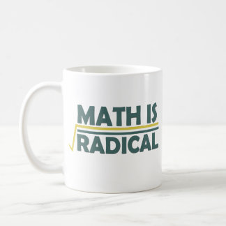 Math is Radical Coffee Mug