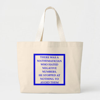 MATH LARGE TOTE BAG