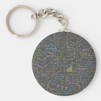 Math Lessons Key Ring