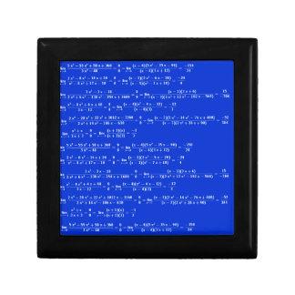 Math limits - Blue model Gift Box