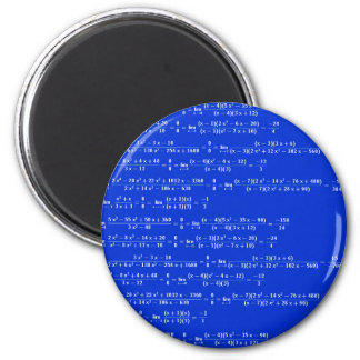 Math limits - Blue model Magnet