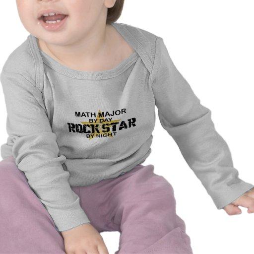 Math Major Rock Star T-shirts