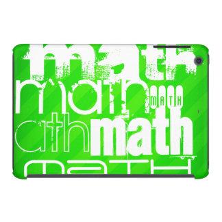 Math; Neon Green Stripes iPad Mini Retina Covers