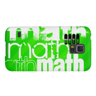 Math; Neon Green Stripes Cases For Galaxy S5