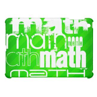 Math; Neon Green Stripes Case For The iPad Mini