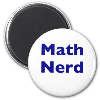 Math Nerd 6 Cm Round Magnet
