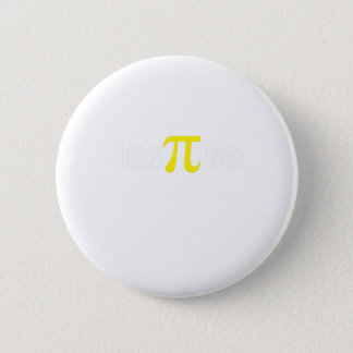 Math Pi Day Gift Shirt Math Lover 6 Cm Round Badge