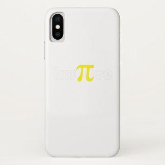 Math Pi Day Gift Shirt Math Lover iPhone X Case