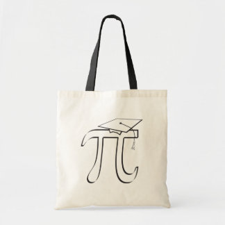 Math Pi Graduate Tote Bag