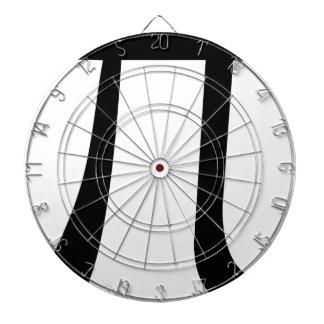 Math Pi Symbol Dartboard
