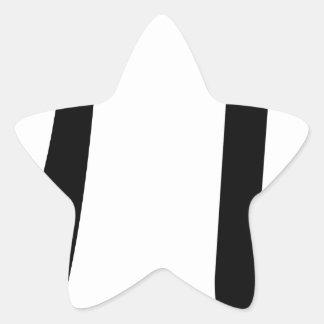 Math Pi Symbol Star Sticker