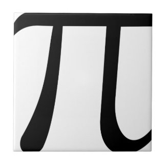 Math Pi Symbol Tile
