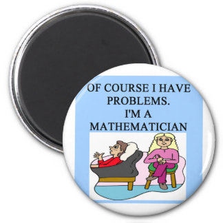 MATH psychology joke Magnet
