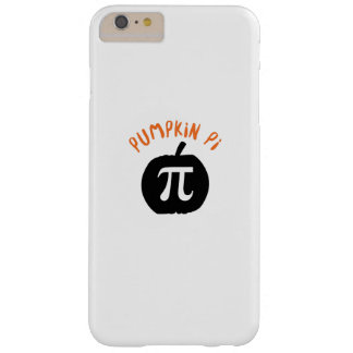 Math Pun Pumpkin Pi Funny Halloweens Barely There iPhone 6 Plus Case