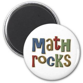 Math Rocks 6 Cm Round Magnet