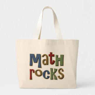 Math Rocks Tote Bags