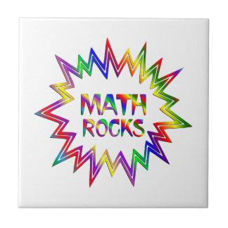 Math Rocks Ceramic Tile