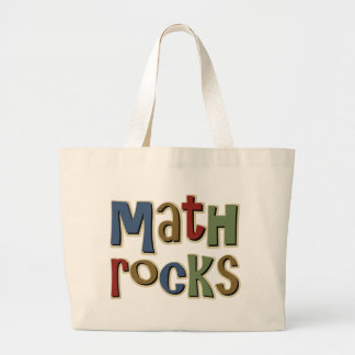 Math Rocks Jumbo Tote Bag