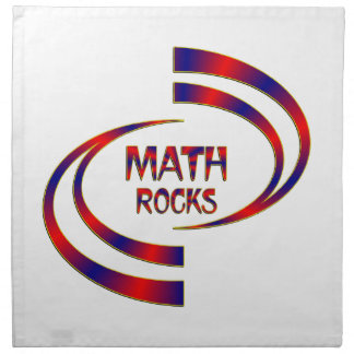 Math Rocks Napkin