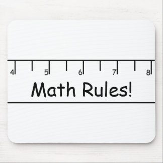 Math Rules! Mouse Pad