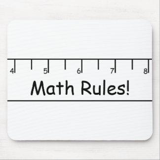 Math Rules Mousepad