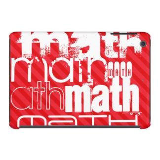 Math; Scarlet Red Stripes iPad Mini Retina Case