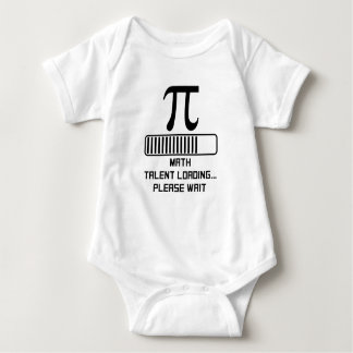 Math Talent Loading Baby Bodysuit
