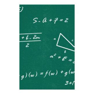 math teacher algebra geek stationery