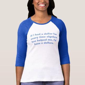 Math Teacher Algebra Pun Tshirt