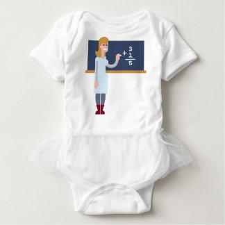 Math Teacher Baby Bodysuit