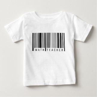 Math Teacher Barcode Baby T-Shirt