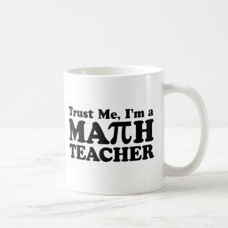 Math Teacher Basic White Mug