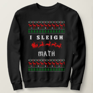 Math Teacher Christmas Sweater