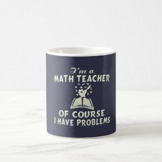 Math Teacher Coffee Mug