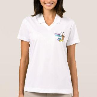Math Teacher Polo Shirt