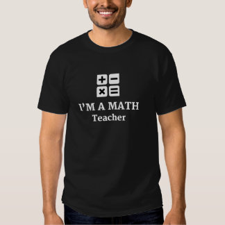 Math Teacher Products Tshirts