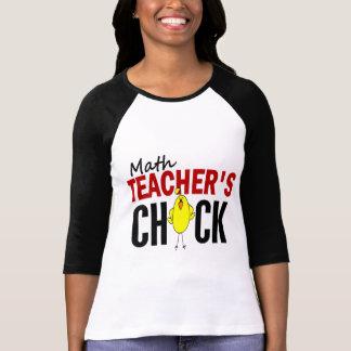 MATH TEACHER'S CHICK T-Shirt