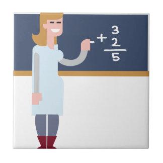 Math Teacher Tile