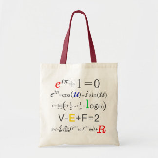 Math Tote Bag-Euler Formula