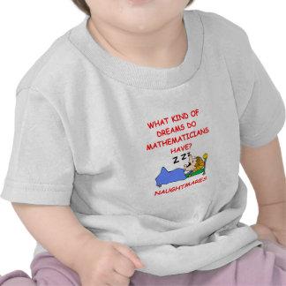 math t shirts
